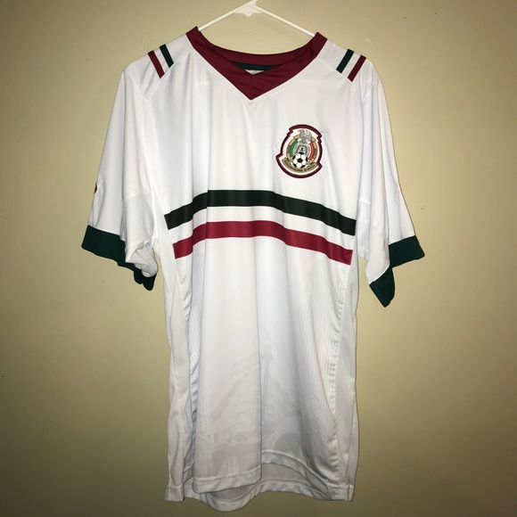 huge discount fb375 5c8e7 White Mexico Jersey Russia World Cup Edition